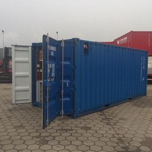Container verkoop Gebr. Vermeer Transport